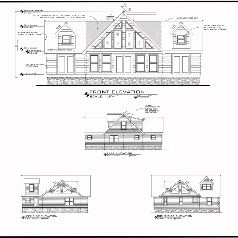 Kitchen Floor Plans And Elevations: Our Jocassee