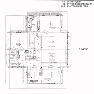 blue ridge log cabins floor plan jocassee V first floor