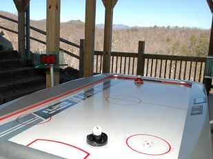 Air Hockey on Deck
